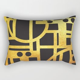 Art Deco Nothing Else Matters Rectangular Pillow