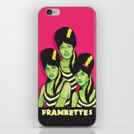 Frankettes iPhone Skin