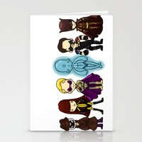 watchmen Stationery Cards featuring watchmen by Space Bat designs