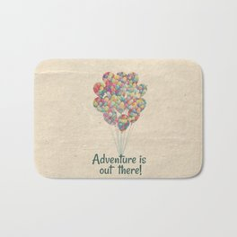 Adventure is Out There - UP Bath Mat