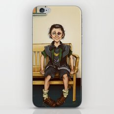 Loki Outside the Principal's Office iPhone & iPod Skin