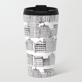 skyscraper Metal Travel Mug