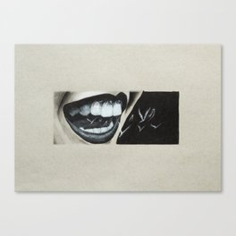Smiley Canvas Print