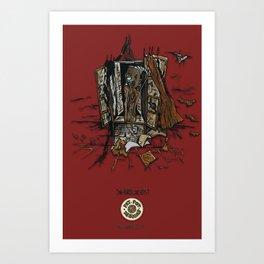 Window (INKollection) Art Print