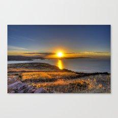 A Titicaca Sunset Canvas Print
