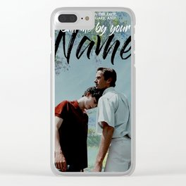 Call me by Your Name Andre Clear iPhone Case