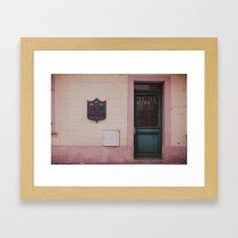 Bar Aux Trois Rois Framed Art Print