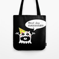 birthday Tote Bags featuring Birthday by My own little world