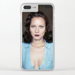 Morning in Italy Clear iPhone Case