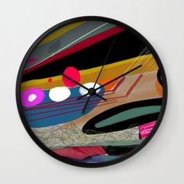 Abstract Patterns Wall Clock