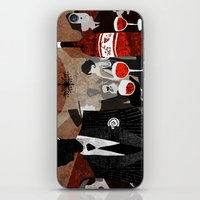 wine iPhone & iPod Skins featuring Wine by c.billadeau