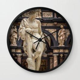 Apollo by Pietro Francavilla 1577 Wall Clock