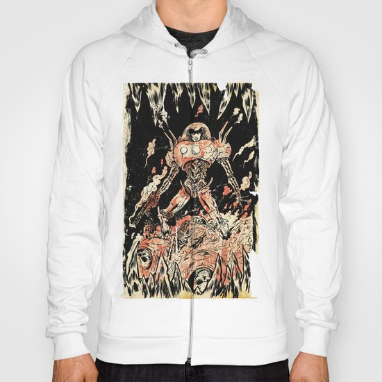 Dogs of Mars pin-up Hoody