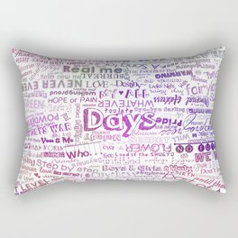 Under the same sky... (Color) Rectangular Pillow