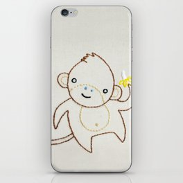 M Monkey iPhone Skin