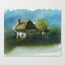 A Place in the Country Canvas Print