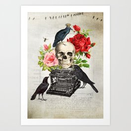 Murder of Crows Art Print