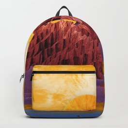 Orange sunset Backpack