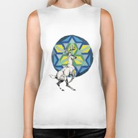 stag Biker Tanks featuring STAG by The Traveling Catburys