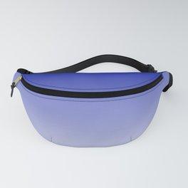 Ombre Zaffre Blue Duotone Fanny Pack