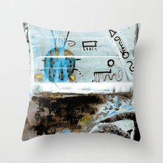 LADYBUG no6 Throw Pillow