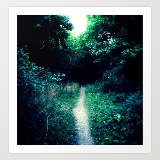 Path II Art Print