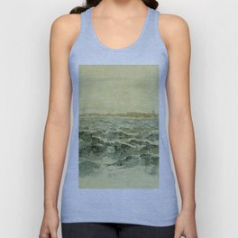 Off The Dutch Coast By James Mcneill Whistler | Reproduction Unisex Tank Top