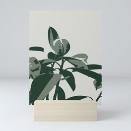 Retro House Plant Mini Art Print