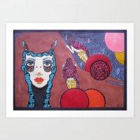 Night Queen Art Print