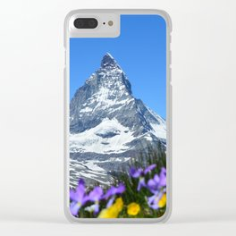 Matterhorn, Switzerland Clear iPhone Case