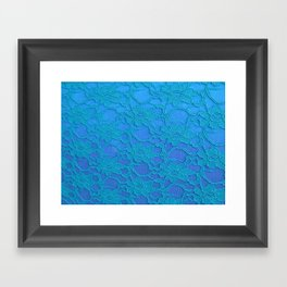Lace Over #3 Framed Art Print