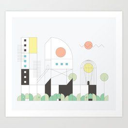 Forma 4 by Taylor Hale Art Print
