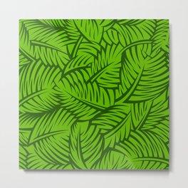Great Palm Leaves Metal Print
