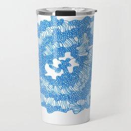 March's Blue 6   | Artline Drawing Pens Sketch Travel Mug