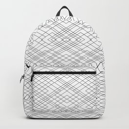Black and White Circuit Backpack