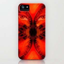 Mirror of Soul Red Magic iPhone Case