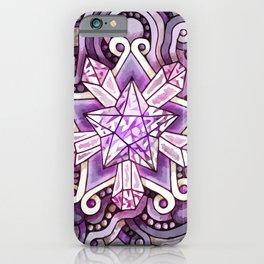 Amethyst Star iPhone Case