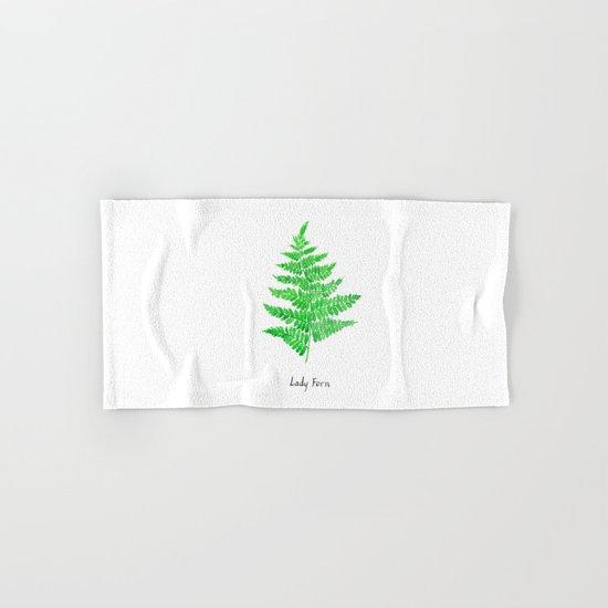 Lady fern Hand & Bath Towel