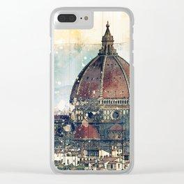 Florence - Cattedrale di Santa Maria del Fiore Clear iPhone Case