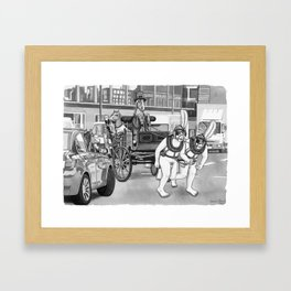 Carriage Ride Framed Art Print