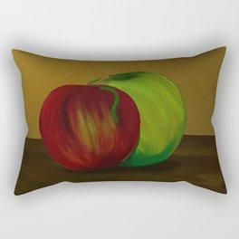 Them's Apples Rectangular Pillow
