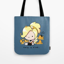 Mercy Is Fine Tote Bag