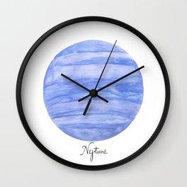 Neptune planet Wall Clock