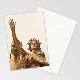 Golden Lady Stationery Cards