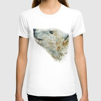 polar bear T-shirts featuring Polar bear by Laura MSS