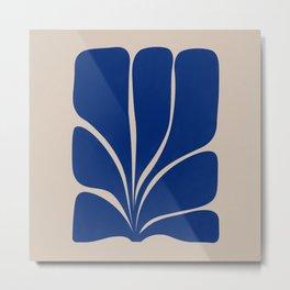Seven Leaf Plant - 3/3 Metal Print