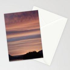 Frozen Sunset 4 - Pale Light Stationery Cards