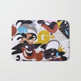 Wall stret art Bath Mat
