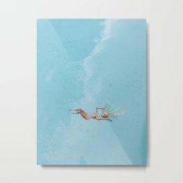 skinny dip Metal Print