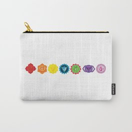 Seven chakra Carry-All Pouch